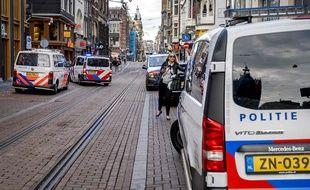 Le journaliste néerlandais Peter de Vries a été gravement blessé par balles à Amsterdam le 6 juillet 2021.
