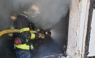 De nombreux sapeurs-pompiers sont intervenus