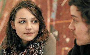Pauline Parigot joue le rôle d'Audrey, une jeune étudiante qui va se radicaliser.