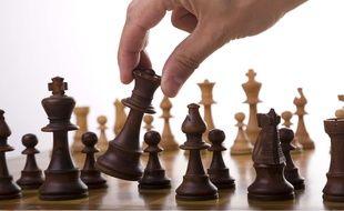 Un joueur d'échecs.