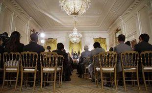 Barack Obama à la Maison Blanche le 9 août 2013.
