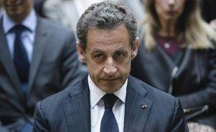 Nicolas Sarkozy à Berlin le 28 février 2014