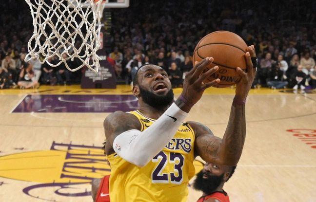 VIDEO. NBA : Emotion, le dunk hommage de LeBron James à Kobe Bryant face aux Rockets