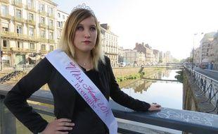 Sacrée Miss Handi Bretagne en mai, Pamela Monnier veut porter la voix des victimes de la Dépakine.