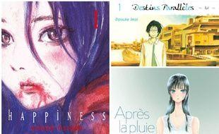 «Happiness», «Destins parallèles», «Après la pluie»... L'adolescence racontée en mangas