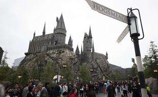 Un parc Harry Potter a ouvert ses portes à Hollywood le 7 avril 2016