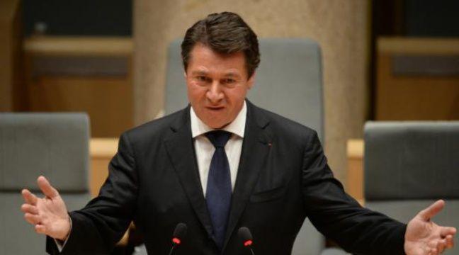 Le maire de Nice Christian Estrosi a réunit plus de 30 maires et élus d'Europe et du pourtour méditerranéen – BORIS HORVAT AFP