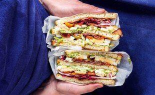 Le club-sandwich du chef Juan Arbelaez.