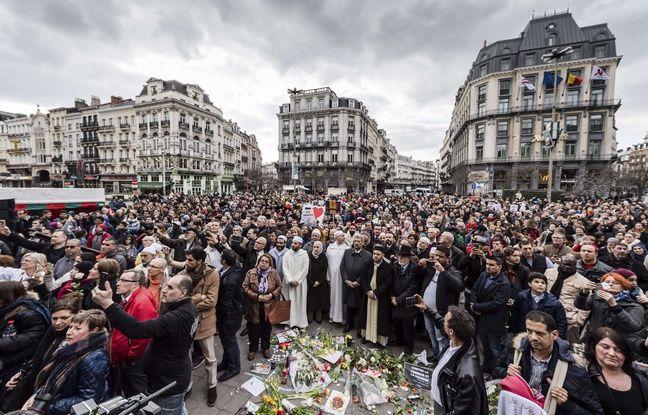 VIDEO: Un an après, Bruxelles a commémoré ses attentats au moment où Londres était frappée