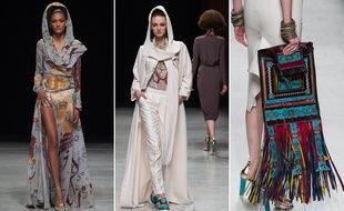 Julien Fournié a présenté sa collection haute couture printemps été 2015 ce mardi 27 janvier 2015.