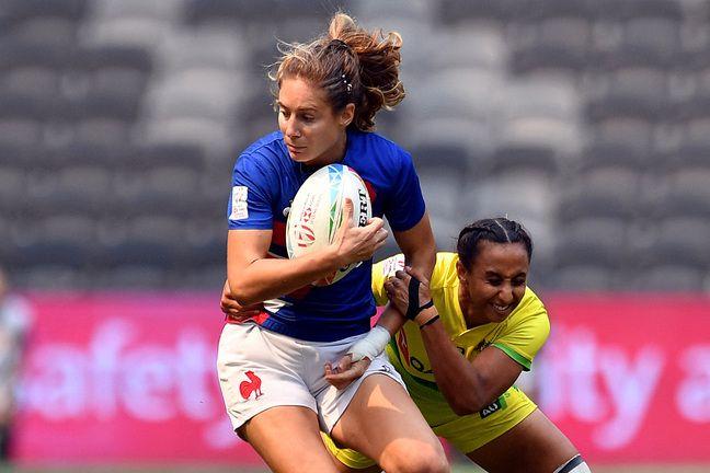 Marjorie Mayans a évolué avec l'équipe de France de rugby à VII jusqu'en 2020.