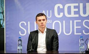 Jean-François Soucasse, ici en tant que directeur général du TFC en janvier 2012.