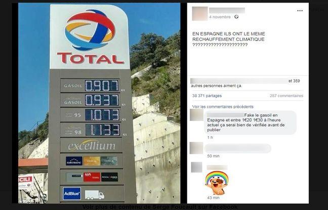 Ce post Facebook, partagé plus de 35.000 fois, a été vu par de nombreux internautes.