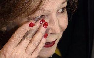 L'écrivaine française Lydie Salvayre, le 5 novembre 2014 à Paris
