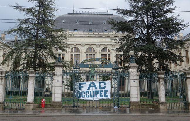 Lyon: Les étudiants bloquent l'Université Lyon 2 jusqu'à la fin de la semaine