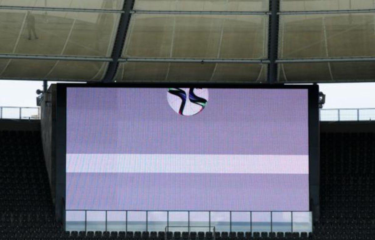 La technologie Hawk Eye, qui permet de déterminer si le ballon a franchi la ligne – JOHN MACDOUGALL AFP