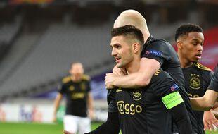 Tadic a égalisé pour l'Ajax