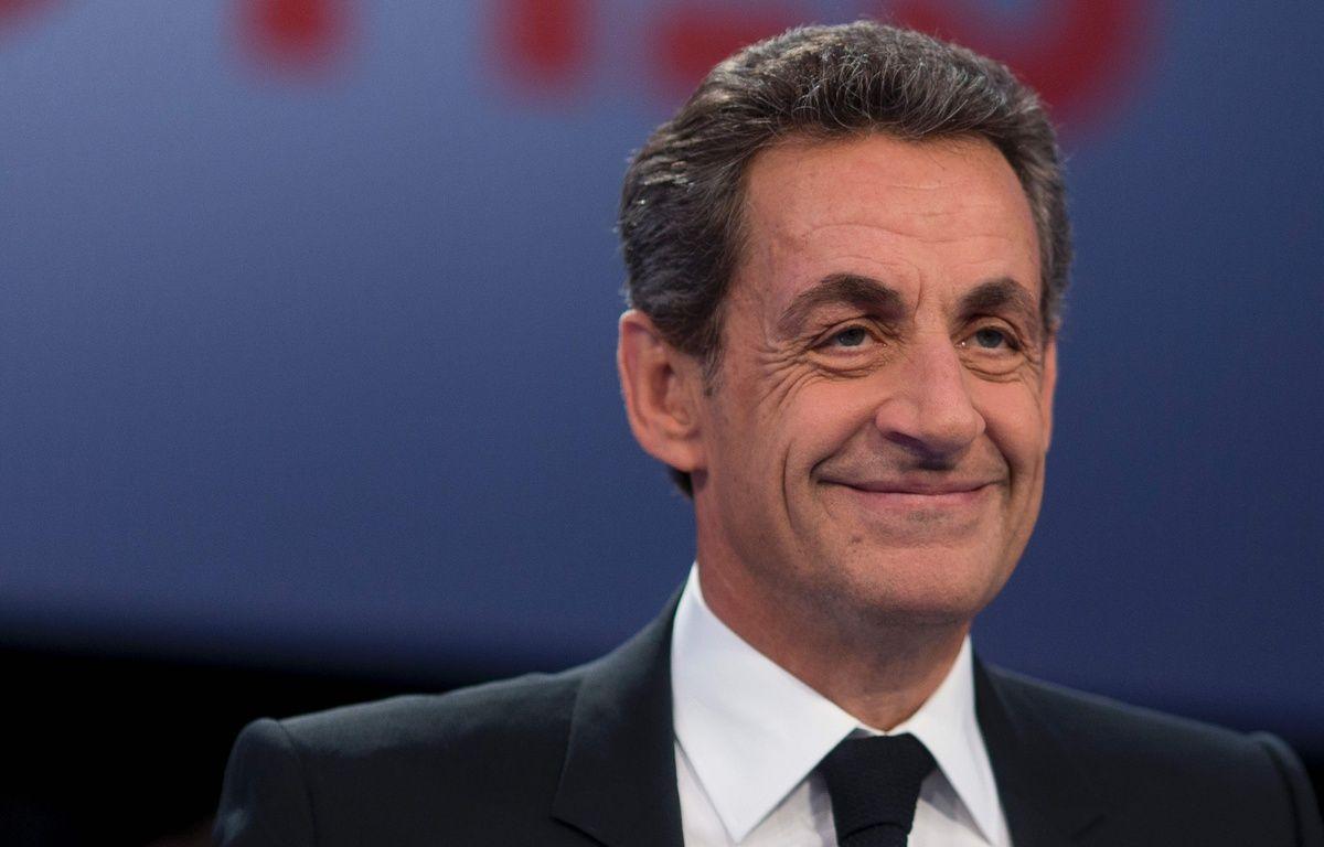 Nicolas Sarkozy, sur le plateau de «Des paroles et des actes», le 4 février 2016. – AFP