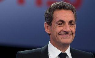 Nicolas Sarkozy, sur le plateau de «Des paroles et des actes», le 4 février 2016.