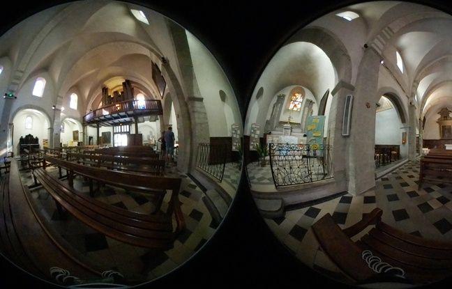 Les photos sont immortalisées en 2 x 8,4 mégapixels. Une vue à 360° est ensuite recrée.