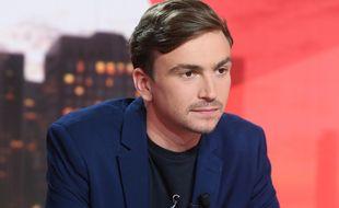 Bertrand Latour, premier présentateur du multiplex Ligue 2 sur la chaîne L'Equipe.