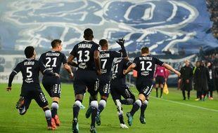 La joie des Bordelais face à Marseille