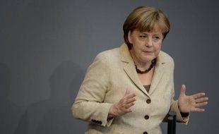 La chancelière allemande Angela Merkel a déclaré samedi croire possible un partenariat stable avec le président français élu François Hollande, dont elle a soutenu l'adversaire Nicolas Sarkozy.