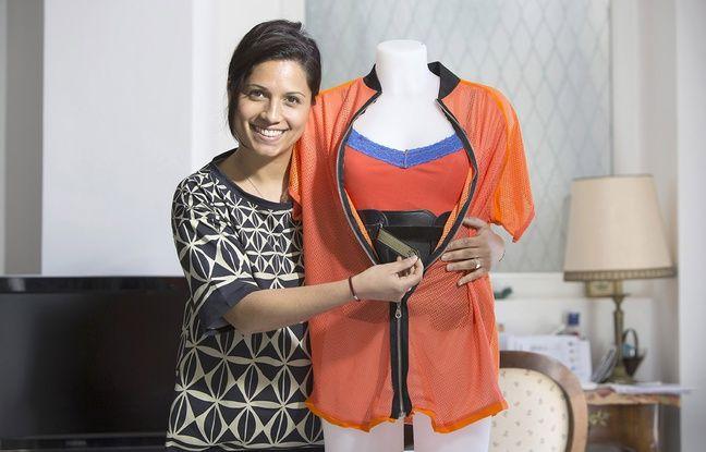 Anne-Cécile Ratsimbason, jeune Niçoise, a créé une entreprise de stylisme médical en janvier 2015.