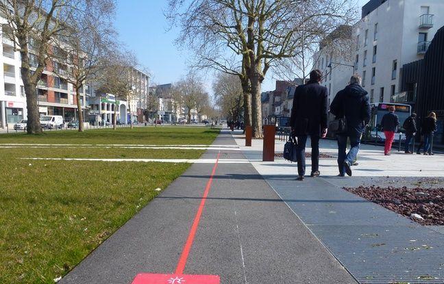 Rennes Suivez La Ligne Rouge Pour Re D Couvrir La Ville