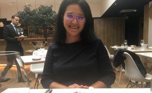 Notre invitée Christine C.-M. au restaurant Erh de la Maison du saké