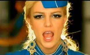 La chanteuse Britney Spears dans le clip de