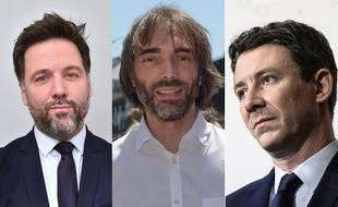 Hugues Renson, Cédric Villani et Benjamin Griveaux prêts à lire nos conseils pour Paris.