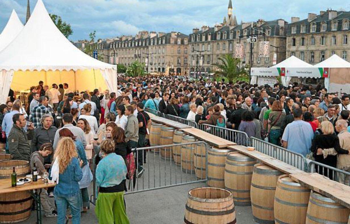 L'édition 2012 de Bordeaux fête le vin a attiré plus de 500.000 visiteurs. – S.ORTOLA/20MINUTES