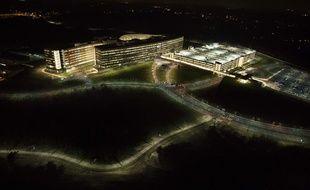 Bâtiment appartenant à la NSA photographié en novembre 2013.