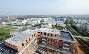 L'Ecoquartier des Perrières, à la Chapelle-sur-Erdre, va accueillir 1200 logements d'ici à 2017.