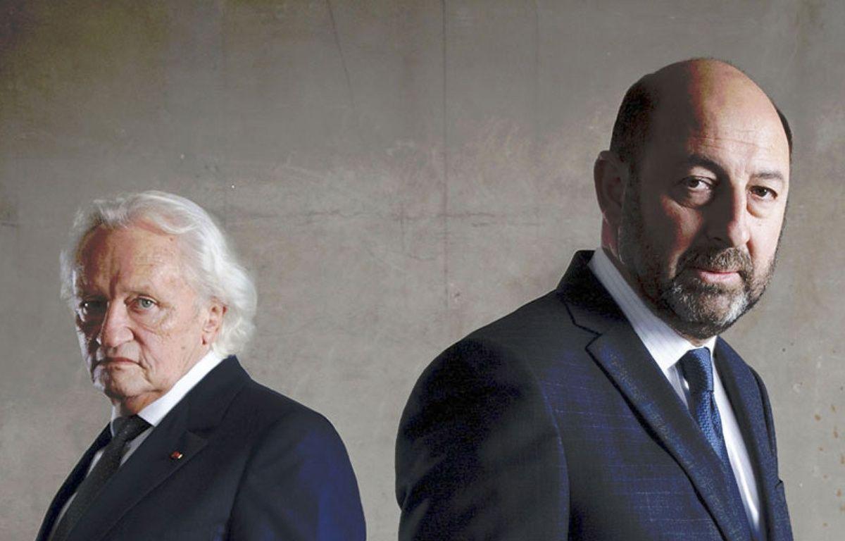 Niels Arestrup et Kad Merad dans la série «Baron Noir» sur Canal+ – © Canal+/Jean-Claude Lother