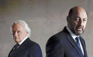 Niels Arestrup et Kad Merad dans la série «Baron Noir» sur Canal+