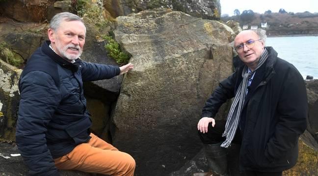 Le mystérieux message gravé sur un rocher enfin déchiffré dans le Finistère
