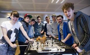 Natoo, Hugo, La Ferme Jérôme, Kemar, Cyprien, Mister V, Julfou et Norman: toute la bande du Zapping amazing 2.