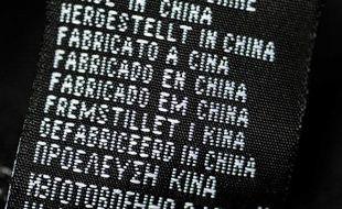 "Produit ""Made in China"", illustration"