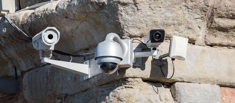 Une des 450 caméras de vidéoprotection en service à Toulouse.