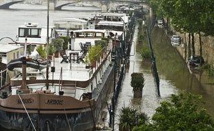 Les quais de Seine ce mercredi