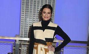 La chanteuse et actrice Lea Michele