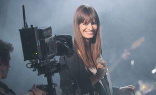 Clara Luciani lors des Victoires de la musique 2019.