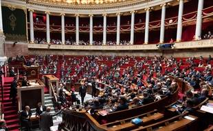 Image d'illustration de l'hémicycle de l'Assemblée nationale.