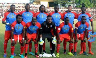 Les joueurs de la République démocratique du Congo en novembre 2016.