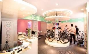 Le magasin Freemoos ouvert mi-juin dans le 3e arrondissement de Paris.