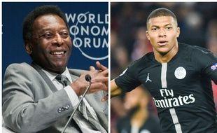 Le Roi Pelé et Kylian Mbappé ont noué des liens depuis la Coupe du monde en Russie.