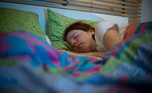 Illustration: Une personne en plein sommeil.