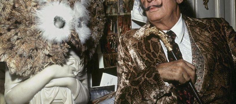 Salvador Dali en 1970